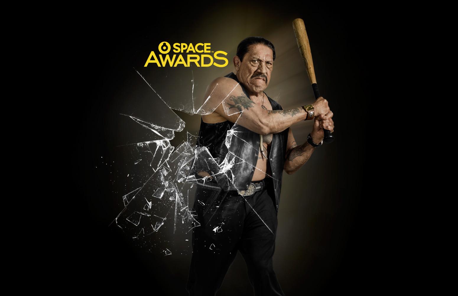 Danny Trejo, conductor de la segunda edición de los Space Awards