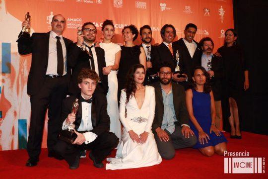 pelicula gueros ganadora noche ariel 2015