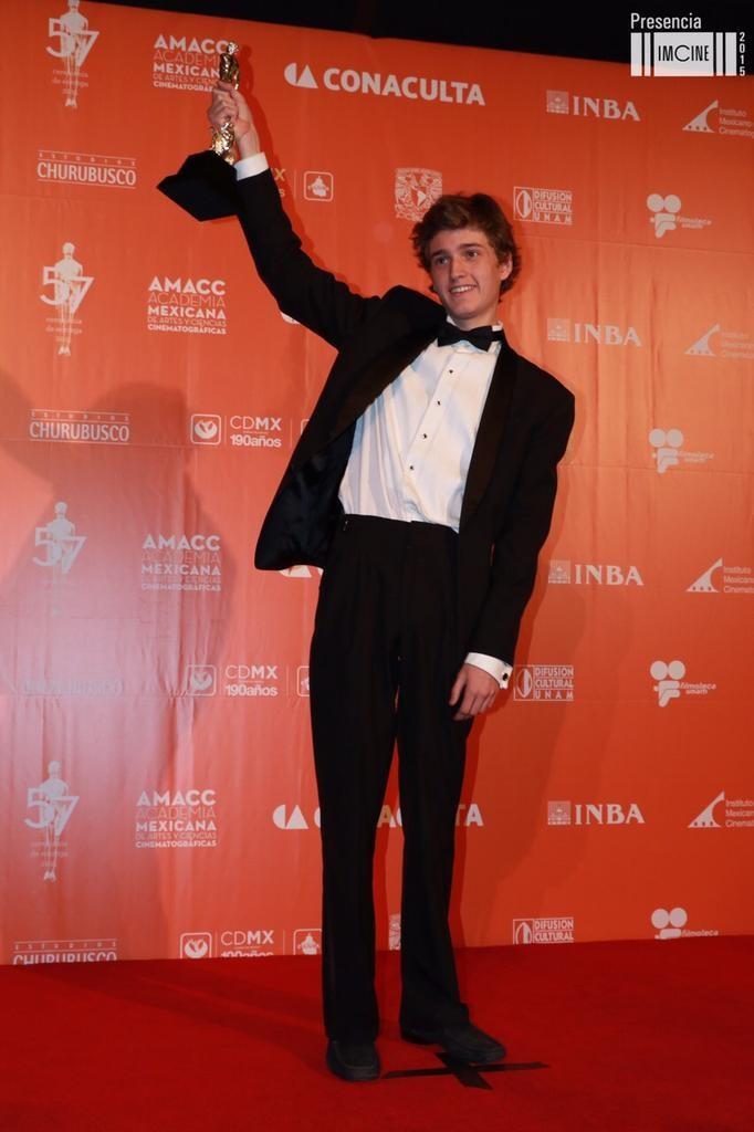 sebastian aguirre premios ariel 2015