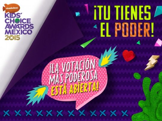 Nickelodeon anuncia a los nominados para KCA México 2015