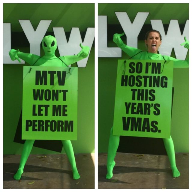 miley cryrus mtv wma 2015