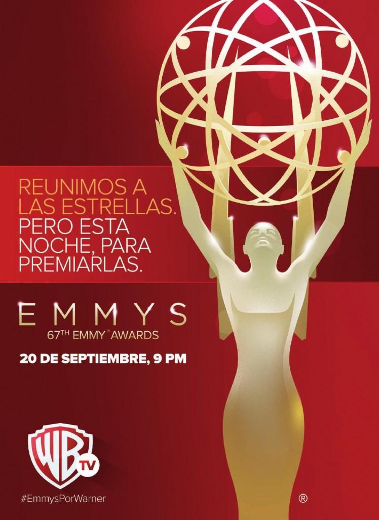 poster premios emmy 2015
