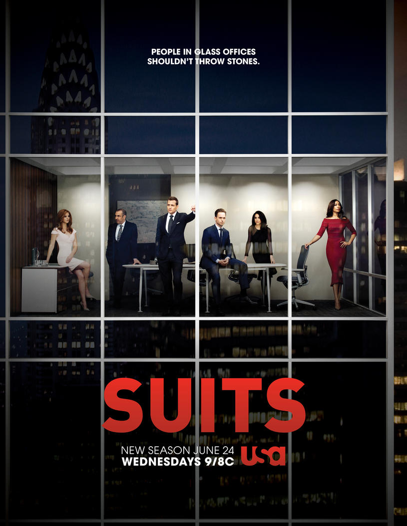 poster quinta temporada suits