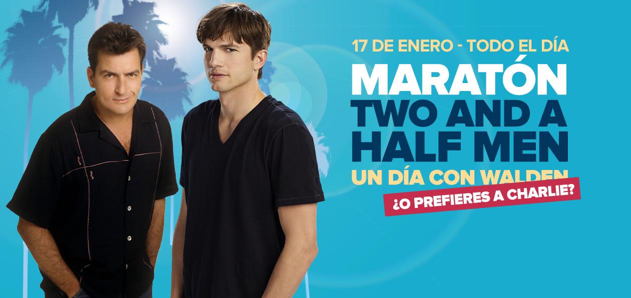 ¿Te atreves a seguirle el ritmo a lo largo de 24 horas? Maratón Two and a Half Men – Especial Charlie