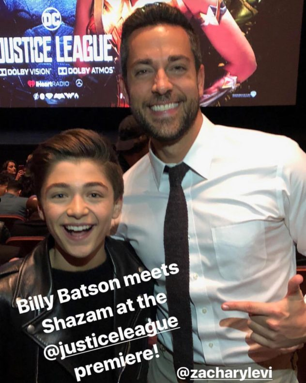 Asher Angel y Zachari Levi