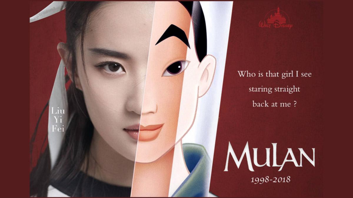 protagonista de mulan live-action