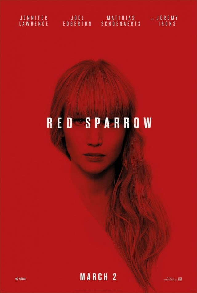 poster pelicula red sparrow