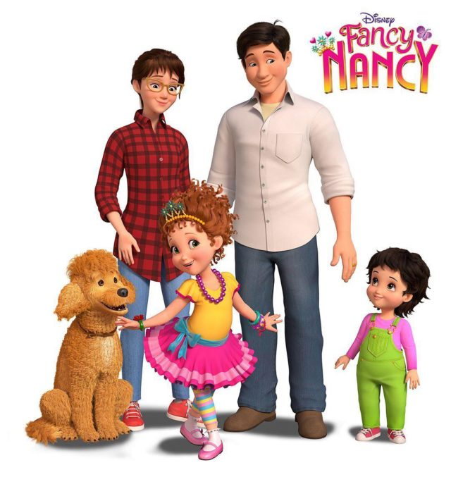fancy nancy fotos serie estreno disney junior