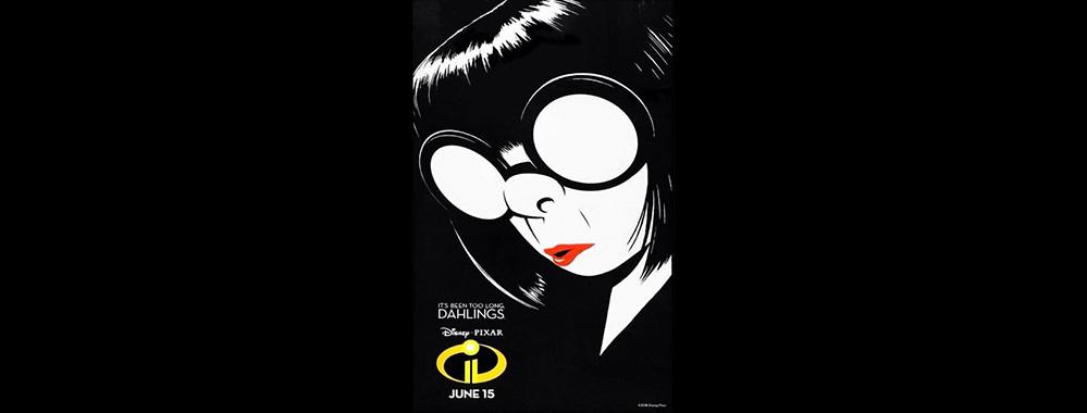 Nuevo poster de Los Increíbles II, con Edna Moda