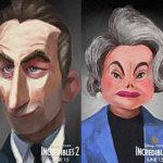 personajes secuela los increibles