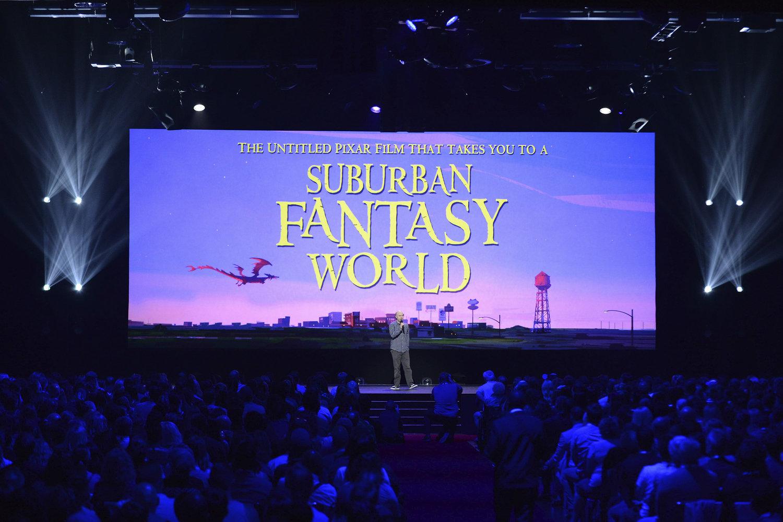 La película de Pixar que te lleva a un mundo de fantasía suburbana