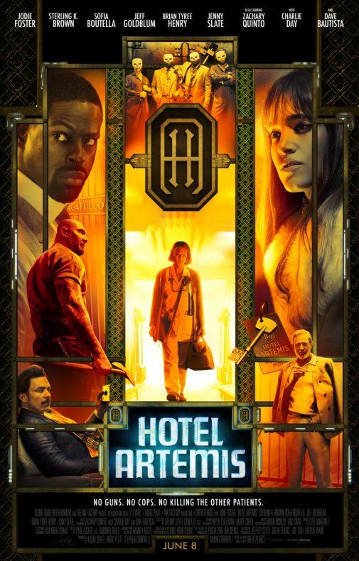 poster pelicula hotel artemis