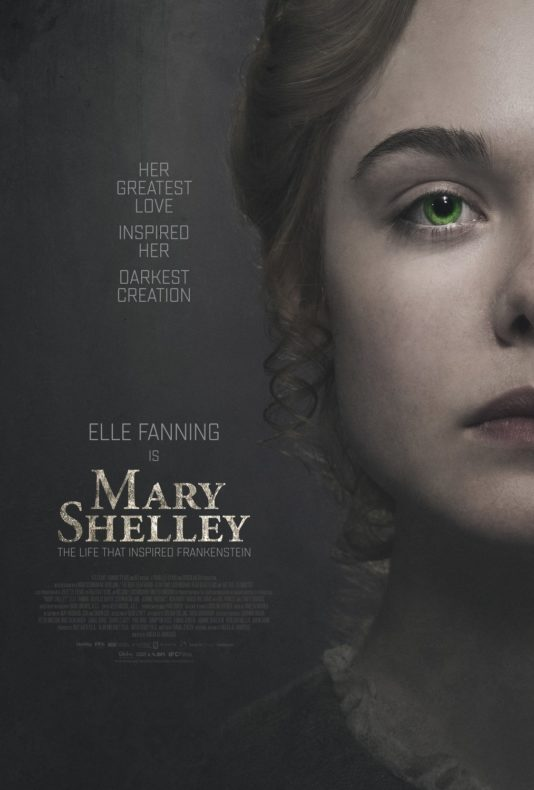 poster pelicula mary shelley