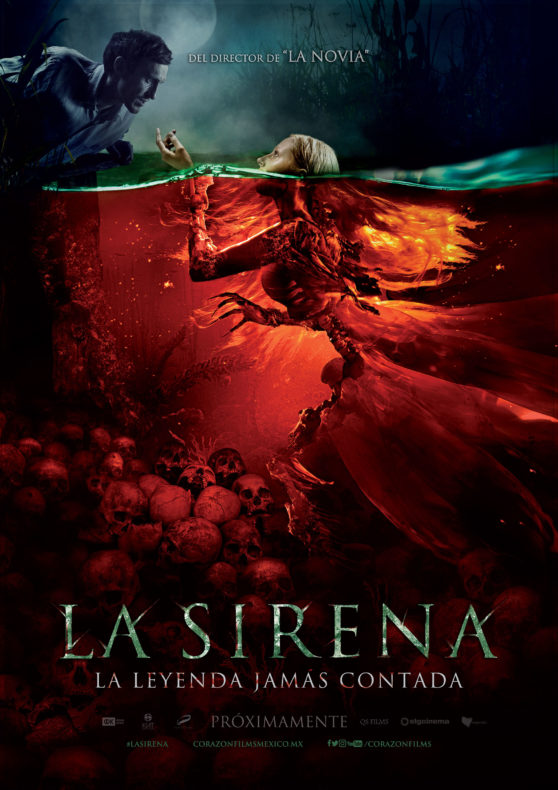 la sirena la leyenda jamas contada poster