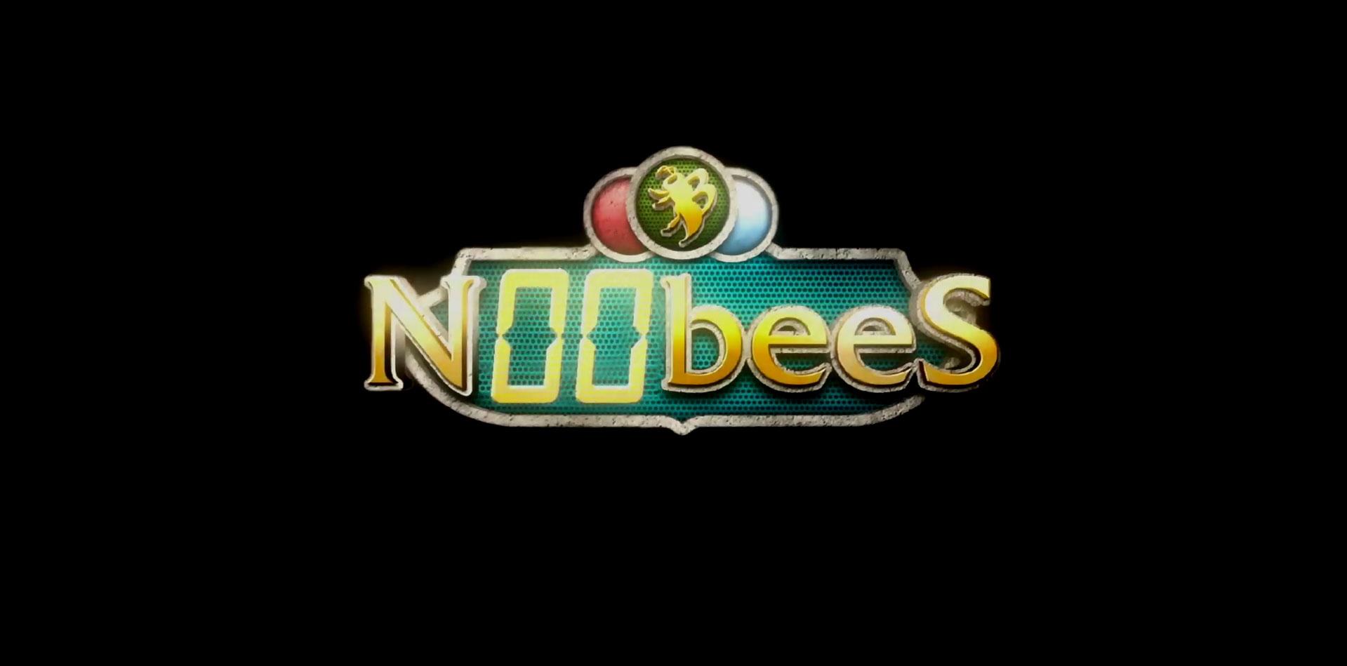 logo serie n00bees canal nickeldeon