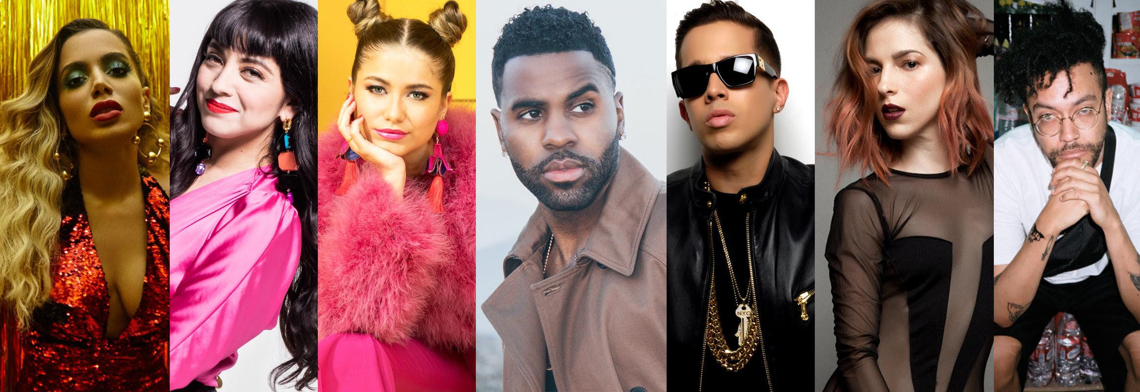 Premios MTV MIAW 2018: presentaciones musicales de Sofía Reyes, Jason Derulo, Anitta y más