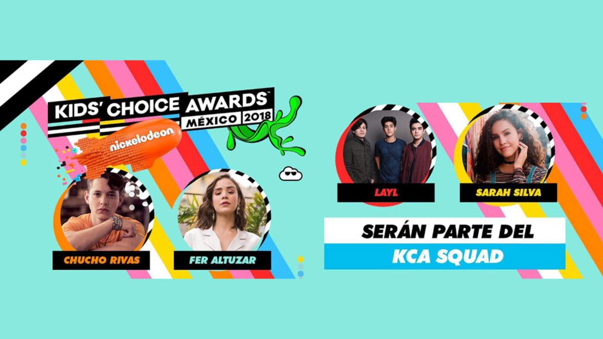 Nickelodeon recluta estrellas digitales para los Kids' Choice Awards 2018