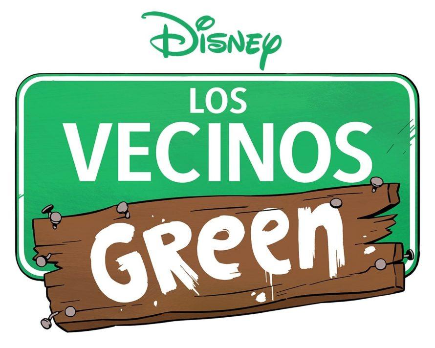 los vecinos green disney xd