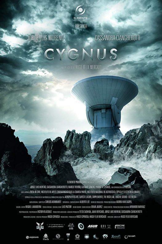poster pelicula cygnus