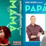 """Andrea Legarreta, Erick Rubin y sus hijas, participan en """"Parque Mágico"""""""