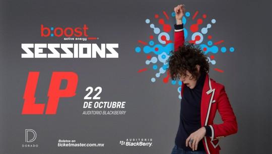 B:OOST SESSIONS Presenta: LP por primera vez en México