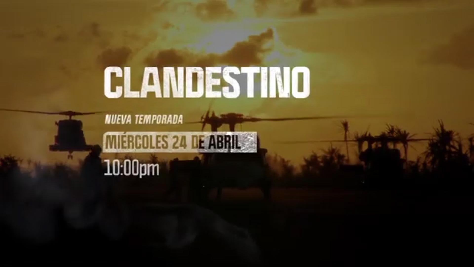 Discovery estrena la nueva temporada de Clandestino con David Beriain