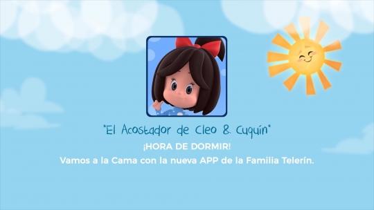"""""""El Acostador de Cleo & Cuquín"""" nueva App de la famosa serie animada"""