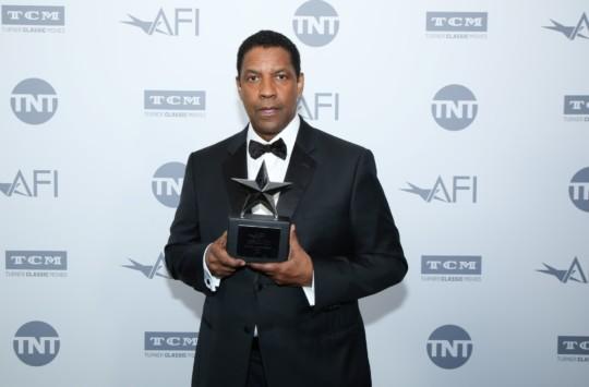 Fotos del homenaje a Denzel Washington por el American Film Institutela