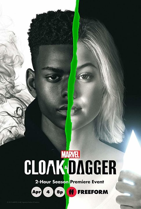 cloak and dagger canal sony segunda temporada