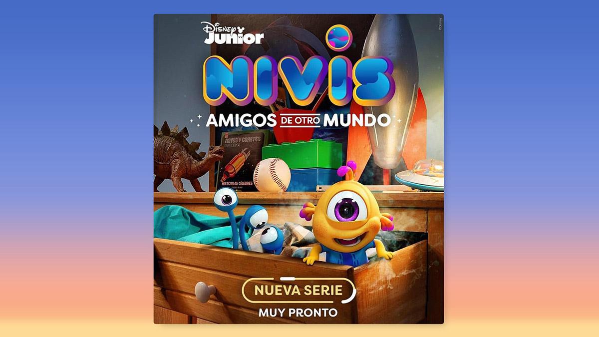 Disney Junior estrena la serie Nivis: Amigos de otro mundo
