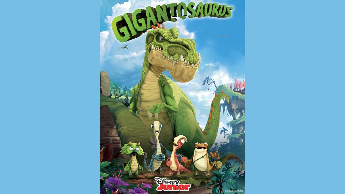 Disney Junior estrena la serie Gigantosaurus