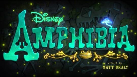 Tráiler y tema musical de la serie Amphibia de Disney Channel