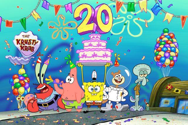 La Gran Fiesta de Cumpleaños de Bob Esponja
