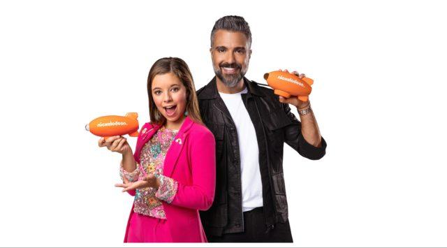 Jaime Camil y La Bala hosts de los Kids' Choice Awards México 2019