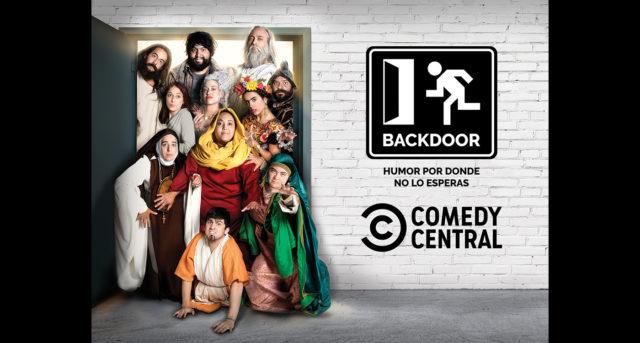 """El canal de comedia sensación de YouTube """"Backdoor"""" aterriza en Comedy Central"""