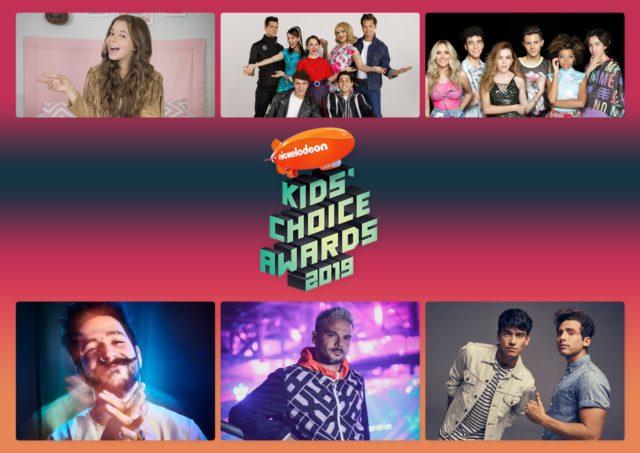 Pedro Capó, Lemongrass, Camilo, MYA y el elenco de Club 57 actuarán en vivo en los Kids' Choice Awards México 2019