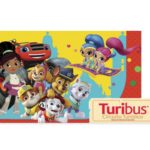 El Turibus Nick Jr. llega a la Ciudad de México