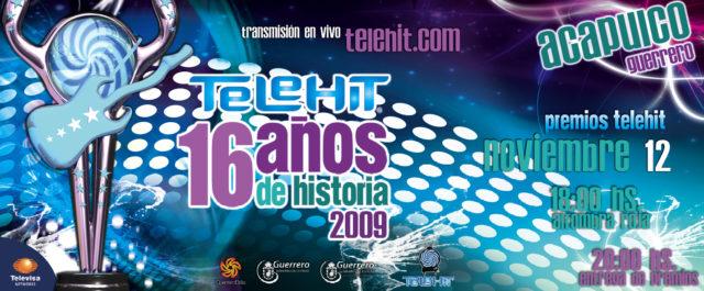 premios telehit 2009
