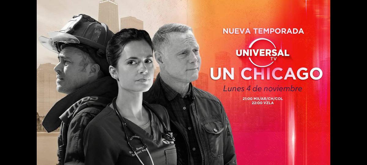 Universal TV estrena nueva temporadas de Chicago Med – Fire – PD