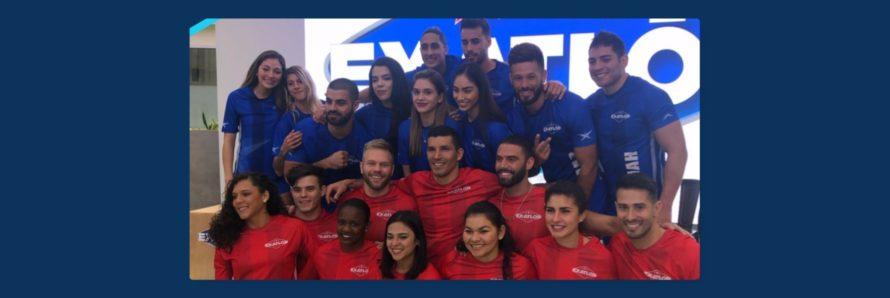 participanets cuarta temporada exatlon