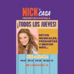 "Nickelodeon estrena ""Nick en casa"", presentado por Bala"