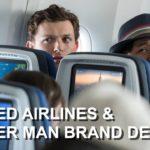 Spider-Man en el video de seguridad de United Airlines