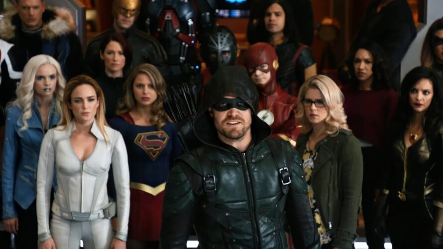 arrowverse warner channel