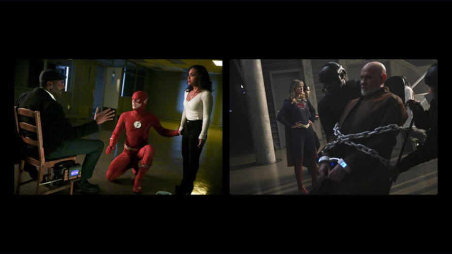 final temporada supergirl y flash