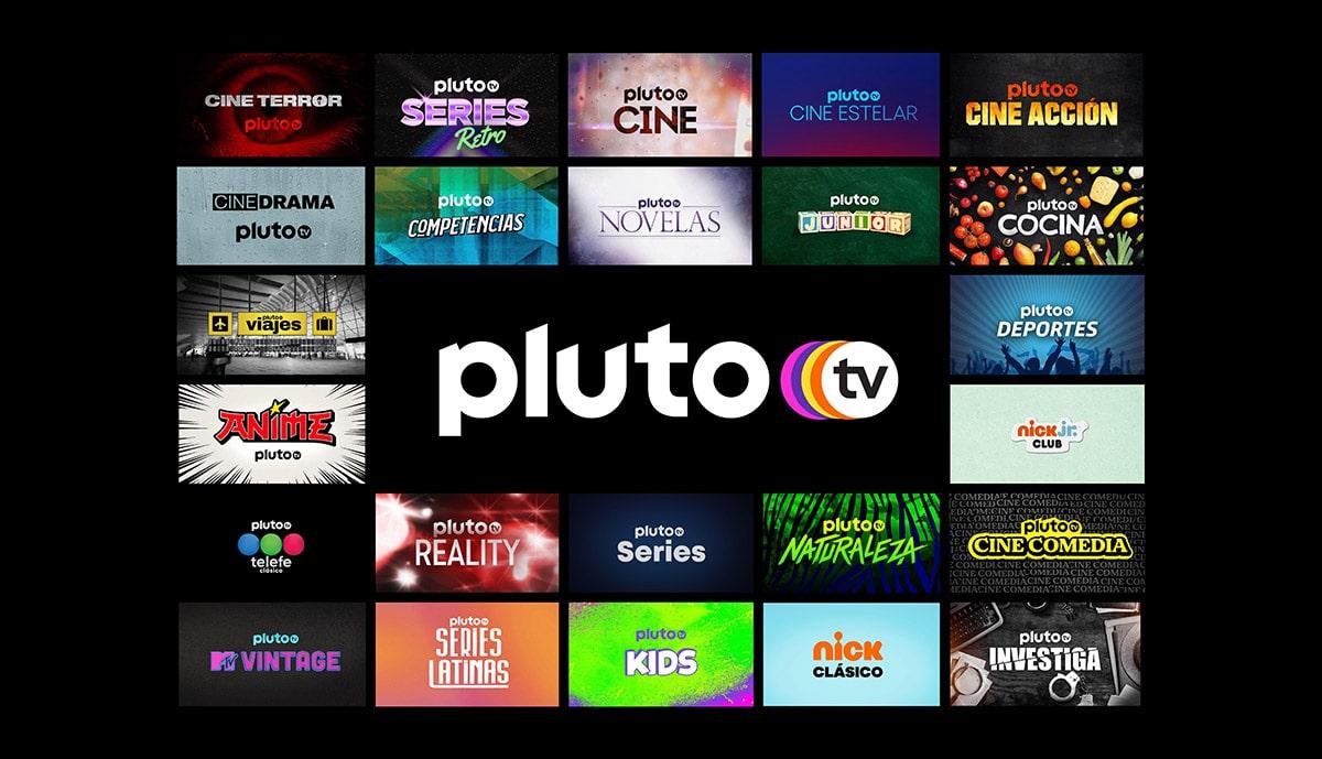 nuevos canales pluto tv