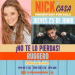 "Ruggero Pasquarelli esta semana en ""Nick en casa"""