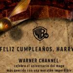Warner Channel celebra cumpleaños de Harry Potter