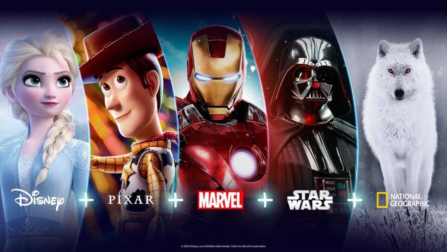 disey plus pixar national star wars