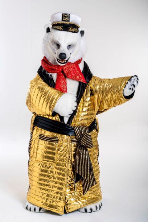 oso polar quien es la mascara