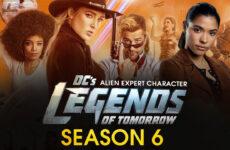 dc legends of tomorrow sexta temporada